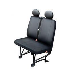 MAMMOOTH Potah sedadlo z syntetické kůže, velikost L, barva černá