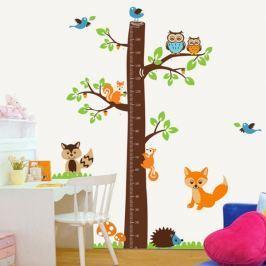 Walplus Měřící strom se zvířátky AY221