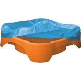 Marian Plast Pískoviště-bazének čtverec s krytím oranžové