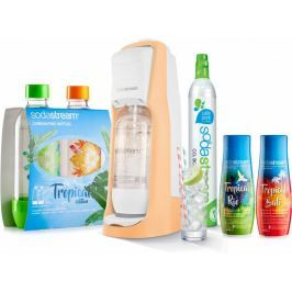 Sodastream JET Orange Tropical Edition Prales 2+2