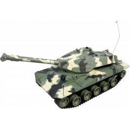 MaDe Tank na ovládání s pásy 50 cm - zelený