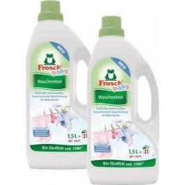 Frosch Eko Hypoalergenní prací gel na kojenecké prádlo 2x1,5 l