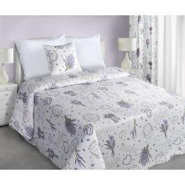 My Best Home Přehoz na postel Romace lavanda, 220x240 cm