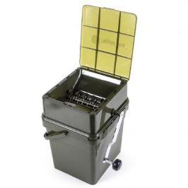RIDGEMONKEY RidgeyMonkey Drtička Advanced Boilie Crusher Kýbl Modular Bucket 17l  Celý Set