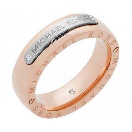 Michael Kors Ocelový bicolor prsten MKJ6392931 (Obvod 59 mm)