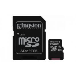 Kingston Micro SDXC Canvas Select 256GB 80MB/s UHS-I + SD adaptér (SDCS/256GB)