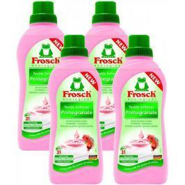 Frosch Eko Hypoalergenní aviváž Granátové jablko 4x750 ml