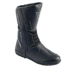Dainese boty TEMPEST D-WP vel.42 černá/karbon, kůže/textil (pár)