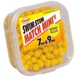Dynamite Baits Swim Stim Match Minis 7 mm & 9 mm betaine yellow