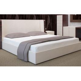 My Best Home Jersey napínací prostěradlo na matraci 160x200 cm bílá