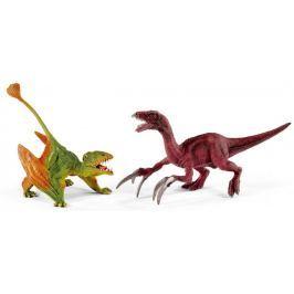 Schleich Prehistorická sada Dimorphodon a Therizinosaurus 41425