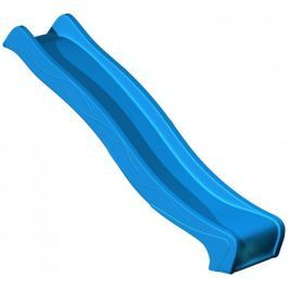 CUBS Skluzavka s přípojkou na vodu 2,2 m modrá