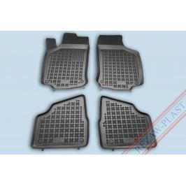 REZAW-PLAST Gumové koberce, sada 4 ks (2x přední, 2x zadní), Opel Corsa C 2000-2006