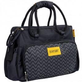 Badabulle Přebalovací taška BOHO Black