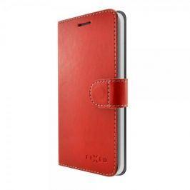 Fixed Pouzdro typu kniha Fit pro Samsung Galaxy J7 (2017), červené