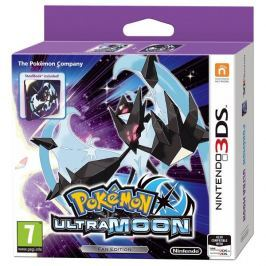 Nintendo 3DS Pokémon Ultra Moon Steelbook Edition