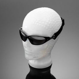 Highway-Hawk motocyklové sluneční brýle , černé obroučky