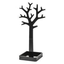 Compactor Stojan na šperky ve tvaru stromu, černý
