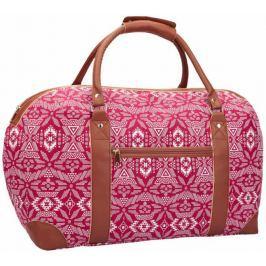 REAbags Cestovní taška Jazzi 2164, červená