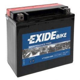Exide bezúdržbová AGM baterie  ETX20H-BS, 12V 18Ah, za sucha nabitá. Náplň součástí balení.