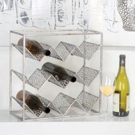 Papillon Stojan na víno kovový Purley, 40 cm