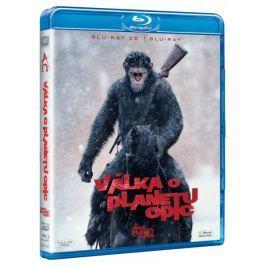 Válka o planetu opic 3D+2D (2BD)   - Blu-ray