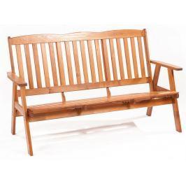 RIWALL Oliver - třímístná zahradní lavice z borovice