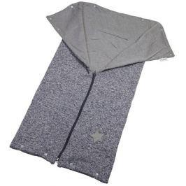 Little Angel Autofusak ze svetroviny Outlast, šedý melír/šedá