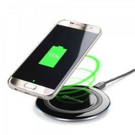 CellularLine Bezdrátová nabíječka Cellularline WIRELESSPAD, Qi standard, černá