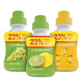 Sodastream Sada Lemon/Víno/Tonic 750 ml