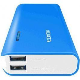 Adata Power Bank PT100 (10000 mAh), bílá/modrá