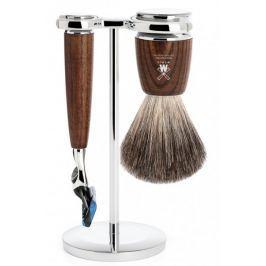 Mühle Rytmo sada na holení, Pure Badger, Fusion, Ash Wood