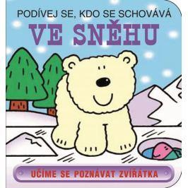 Ve sněhu - Podívej se, kdo se schovává