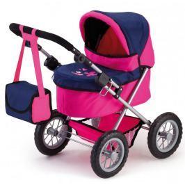 Bayer Design Trendy kočárek pro panenky pink/blau