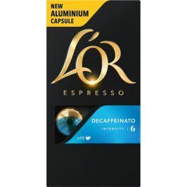 L'Or Espresso Decaffeinato Intenzita 6 - 100 hliníkových kapslí kompatibilních s kávovary Nespresso® *