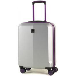 Member's Cestovní kufr TR-0150/3-S stříbrná/fialová