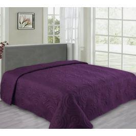 My Best Home Přehoz na postel Reflection fialová, 240x260 cm