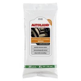 AUTOLAND Čistící ubrousky XL na čalounění, interiérové textilie a potahy, zn. Autoland, 25 ks