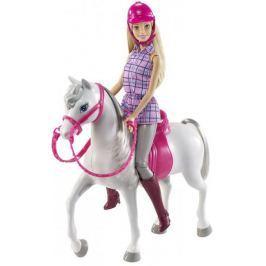 Mattel Barbie Panenka s koňem