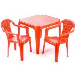 Grand Soleil Sada stoleček a dvě židličky červené