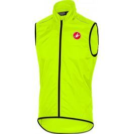 Castelli Squadra Long Vest Yellow Fluo L