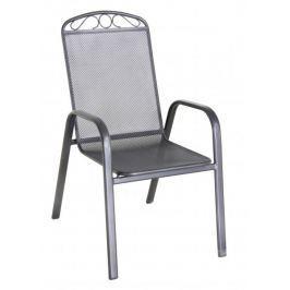 RIWALL Klasik - stohovatelná židle z tahokovu