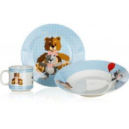 Banquet Dětská sada Medvídci Blue 3ks