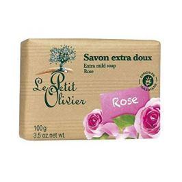 Le Petit Olivier Extra jemné mýdlo Růže (Extra Mild Soap) 100 g