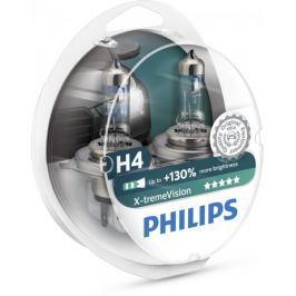 Philips X-tremeVision H4, 12 V, 60/55 W, 2 ks