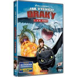 Jak vycvičit draky - TV seriál, 1. + 2. část  (4DVD)   - DVD