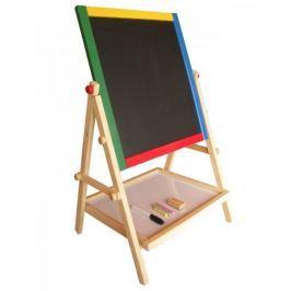 Marionette Kreslící tabule 2v1, dřevěná - II. jakost