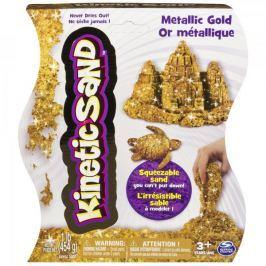 Kinetic Sand Kouzelný metalický písek zlatý 454 g