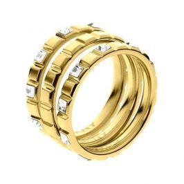 DKNY Zlatý skládací prsten NJ2120710 (Obvod 56 mm)