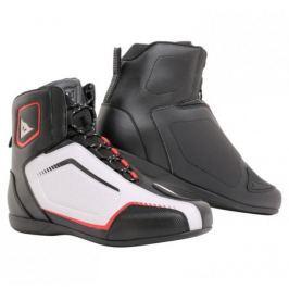 Dainese kotníkové boty RAPTORS AIR vel.39 černá/bílá/červená